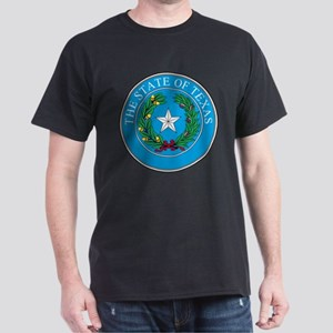 Texas State Seal Dark T-Shirt