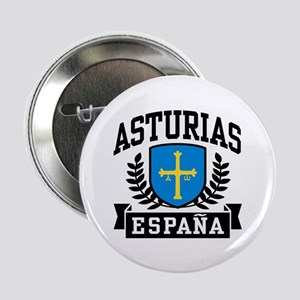 "Asturias Espana 2.25"" Button"