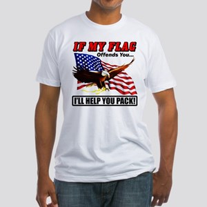 """""""I'll help you pack!"""" Fitted T-Shirt"""