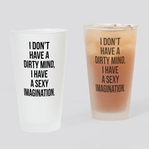 Sexy Imagination Drinking Glass