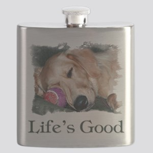 Lifes Good Flask