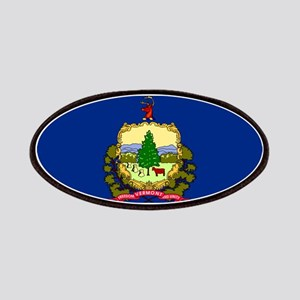Vermont State Flag Patches