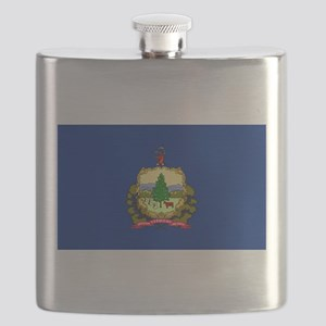 Vermont State Flag Flask
