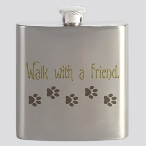 Walk With a Friend Flask
