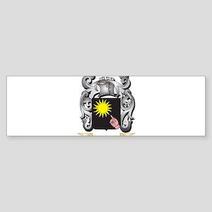 Brady Family Crest - Brady Coat of Bumper Sticker