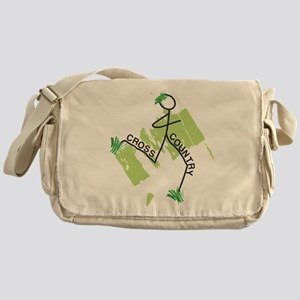 Cute Cross Country Runner Messenger Bag