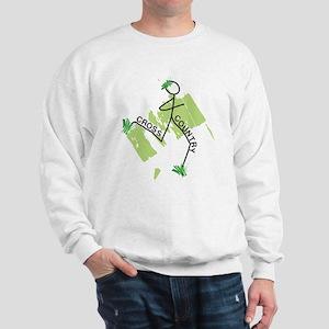 Cute Cross Country Runner Sweatshirt