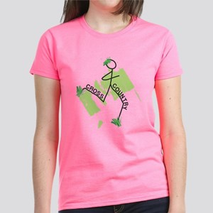 Cute Cross Country Runner Women's Dark T-Shirt
