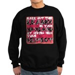 Call out the Leader Sweatshirt (dark)