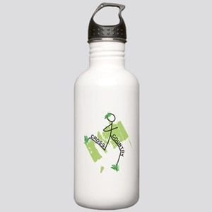 Cute Cross Country Run Stainless Water Bottle 1.0L