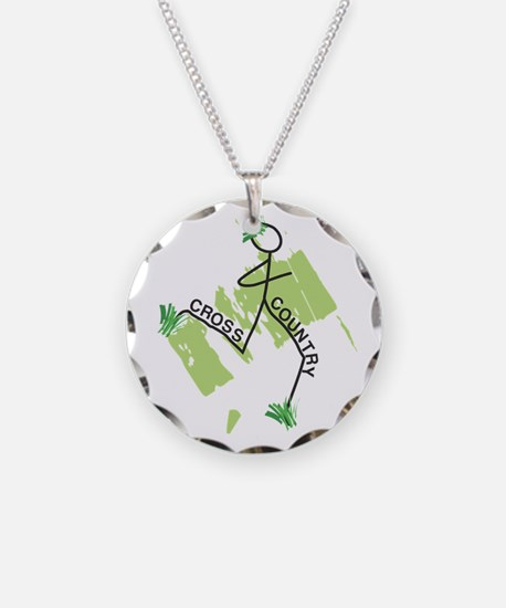 Cute Cross Country Runner Necklace