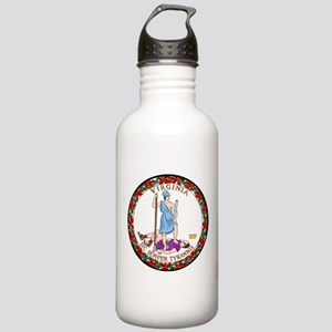 Virginia State Seal Stainless Water Bottle 1.0L