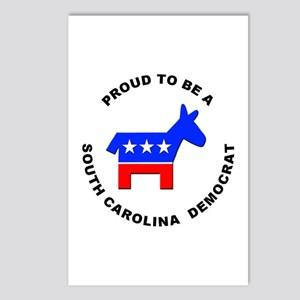 South Carolina Democrat Pride Postcards (Package o