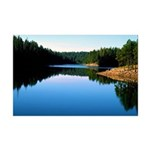 Mogollon Rim Lake Sunrise Mini Poster Print