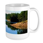 Mogollon Rim Lake Sunrise Large Mug
