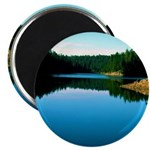 Mogollon Rim Lake Sunrise Magnet