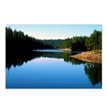 Mogollon Rim Lake Sunrise Postcards (Package of 8)