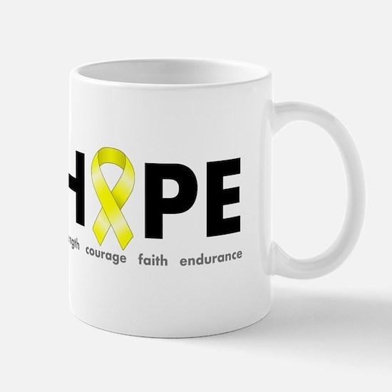 Yellow Ribbon Hope Mug