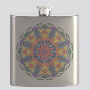 A Colorful Star Flask