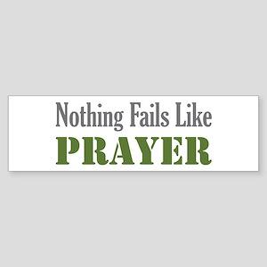 Nothing Fails Like Bumper Sticker