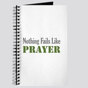 Nothing Fails Like Journal