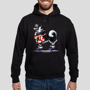 Alaskan Malamute Snowflake Hoodie (dark)