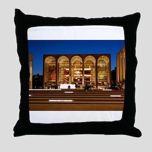 NYC: Lincoln Center Throw Pillow