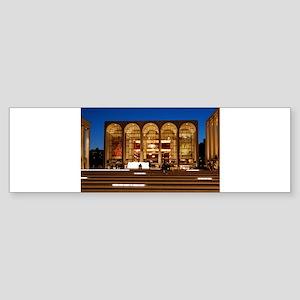 NYC: Lincoln Center Sticker (Bumper)