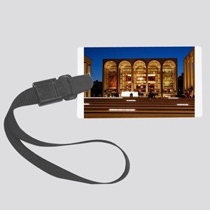 NYC: Lincoln Center Large Luggage Tag