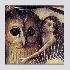 Bosch Earthly Delights (Detail) Tile Coaster