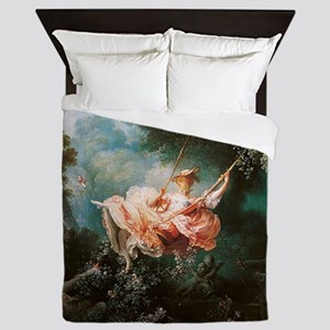 Jean-Honoré Fragonard The Swing Queen Duvet