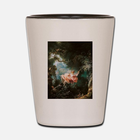 Jean-Honoré Fragonard The Swing Shot Glass