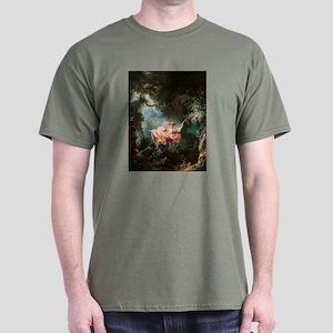 Jean-Honoré Fragonard The Swing Dark T-Shirt