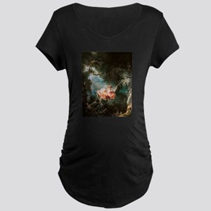 Jean-Honoré Fragonard The Swing Maternity Dark T-S