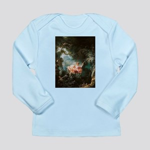 Jean-Honoré Fragonard The Swing Long Sleeve Infant
