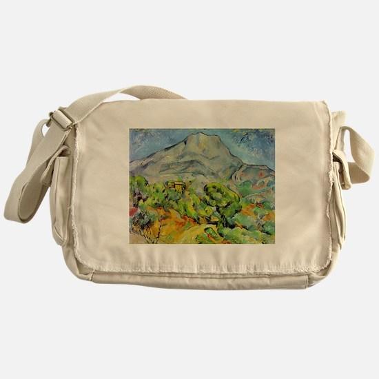 Cezanne Mont Sainte-Victoire Messenger Bag