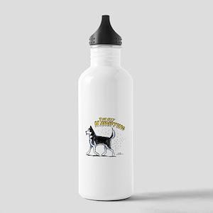 Siberian Husky Hairifying Stainless Water Bottle 1
