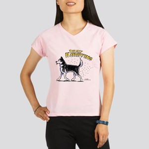Siberian Husky Hairifying Performance Dry T-Shirt