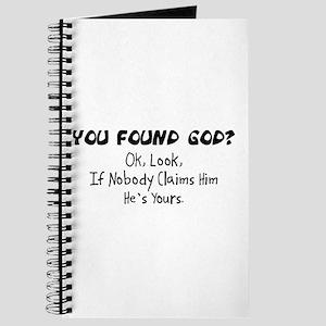 You Found God Journal