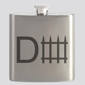 d fence. Flask