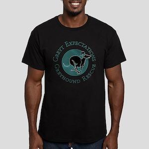 Baseball Pip Men's Fitted T-Shirt (dark)