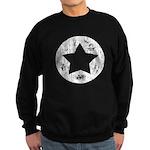 Distressed Vintage Star 2 Sweatshirt (dark)