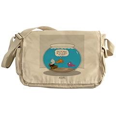 Fishbowl Stolen Treasure Messenger Bag