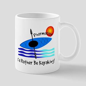 pharmacist kayaker Mug