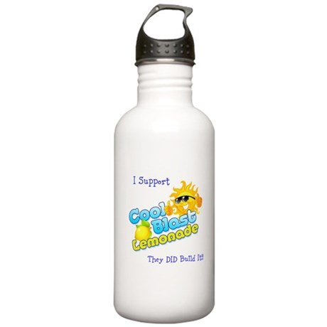 Cool Blast Lemonade Logo Stainless Water Bottle 1.