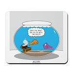 Fishbowl Stolen Treasure Mousepad
