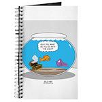 Fishbowl Stolen Treasure Journal