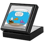 Fishbowl Stolen Treasure Keepsake Box
