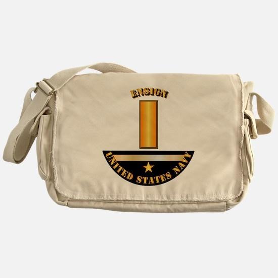 Navy - Officer - Ensign Messenger Bag