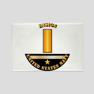 Navy - Officer - Ensign Rectangle Magnet